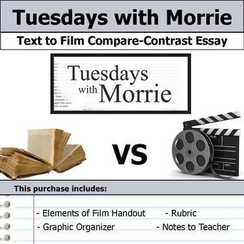Tuesdays with Morrie - Text to Film Essay Bundle