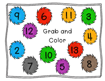Tuft Grab and Color-Number Matching 2-25