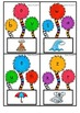 Tufts and Trunks Alphabet Clip Cards