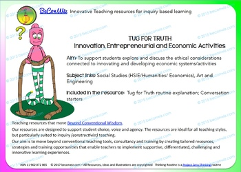 Tug For Truth – Economics and Innovation