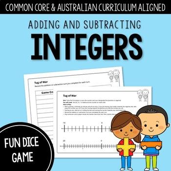 Tug of War: Adding and Subtracting Integers | AUSTRALIAN CURRICULUM