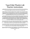 Tug-of-War Physics Lab