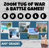 Zoom Games Bundle Tug of War Battle: Any Content & Grade!