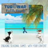 Tug of War Zoom Games! Any Content & Grade!  Google Meetin