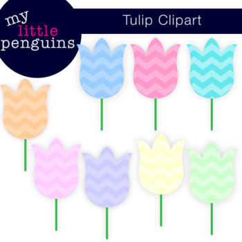 Tulip Clipart (flower and spring clip art)