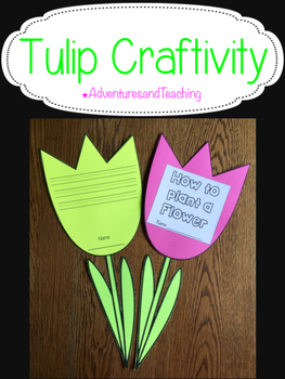 Tulip {Craftivity}