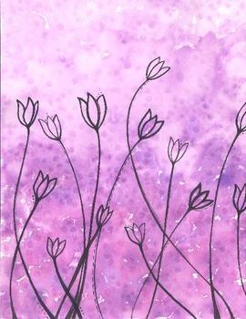 Tulip Watercolors