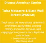 Tulsa Massacre & Black Wall Street (Complete Lesson) - SPANISH Version