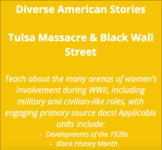 Tulsa Massacre & Black Wall Street - Complete Lesson Set