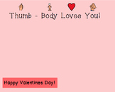Tumb-Body Loves You FREE Valentine's Template