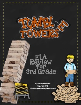 Tumble Towers - 3rd Grade ELA CRCT Review Game