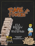 Tumble Towers - 3rd Grade ELA Testing Review Game