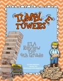 Tumble Towers -4th Grade ELA Review Game