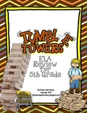 Tumble Towers - 5th Grade ELA CRCT Review Game