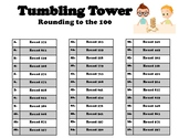 Tumbling Tower- Round to 100
