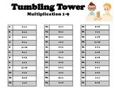 Tumbling Tower- multiplication
