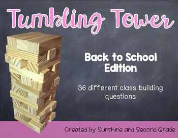 Tumbling Tower Back to School Edition