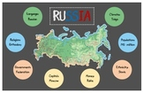 Russia Infographic Poster