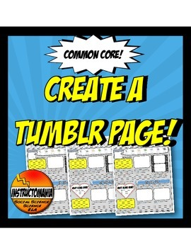 Tumblr Page for A Famous Figure or Character Analysis Common Core