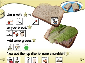 Tuna Salad Sandwiches - Animated Step-by-Step Recipe - PCS