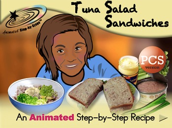 Tuna Salad Sandwiches - Animated Step-by-Step Recipe - PCS