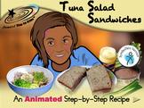 Tuna Salad Sandwiches - Animated Step-by-Step Recipe - SymbolStix