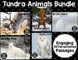 Tundra Animals Reading Passage Bundle