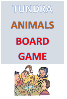 Tundra Animals Board Game