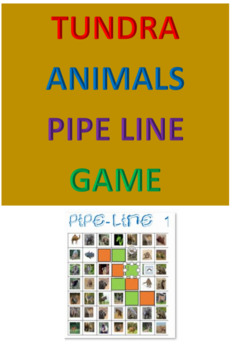 Tundra Animals Pipe Line Game