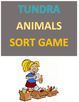 Tundra Animals Sort Game