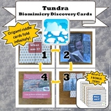 Tundra Biome Biomimicry Discovery Cards Kit  NGSS 1-LS1-1