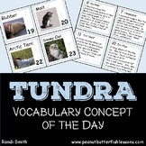 Tundra Vocabulary Concept of the Day