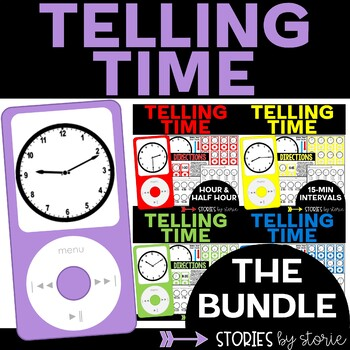 Telling Time Bundle (4-in-1 Pack)