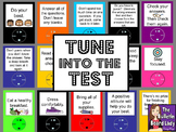 Tune Into the Test-Test Taking Skills Bulletin Board for Test Prep