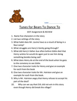 Tunes For Bears To Dance Quiz