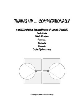 Tuning Up ... Computationally 7th Grade