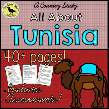 Tunisia Country Study - World Communities (Grade 3 Social Studies)