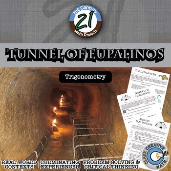 Tunnel of Eupalinos -- Civil Engineering -- Law of Sines & Cosines STEM Project