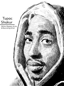 Tupac Shakur W Caption Jpeg Poster Print File U S Black History
