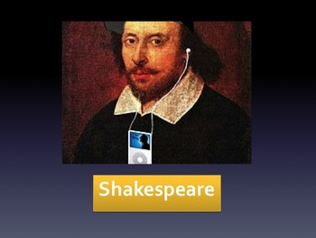 Tupac or Shakespeare Introduction Game