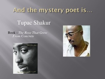 Tupac/2pac Mystery poet