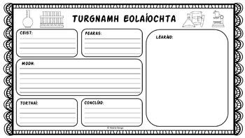 Turgnaimh Eolaíochta (as Gaeilge) //Science Experiments (in Irish)