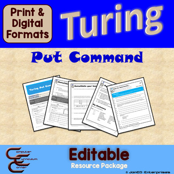 Turing 1 A Put Command Package