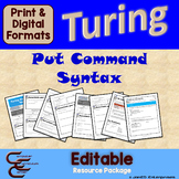 Turing 1 B Put Syntax Commands Package