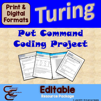 Turing 1 C Output Culminating Activity