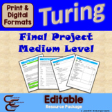 Turing 12 B Medium Final Culminating Activity Problems Package