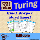 Turing 12 C Hard Final Culminating Activity Problems Package