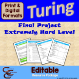 Turing 12 D Extremely Hard Final Culminating Activity Prob