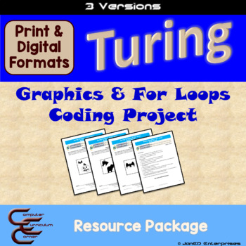 Turing 2 D For Loop Culminating Activity 3 Version Package