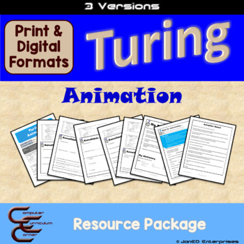 Turing 3 A Animation 3 Version Package